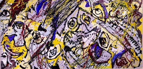 Self Portrait Abstract, 2004