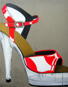 0083 - Red Stiletto, 2008
