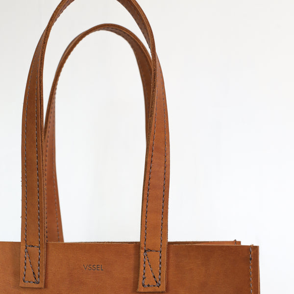 Leather Market Bag