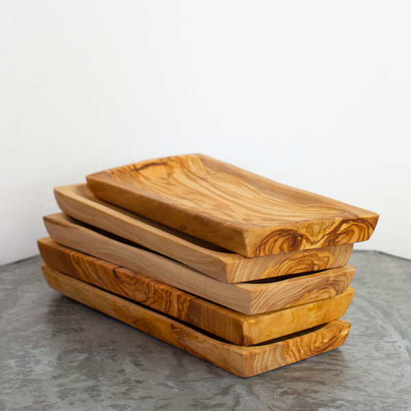 Olive Wood Rectangular tray