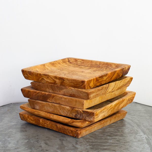Olive Wood Square tray