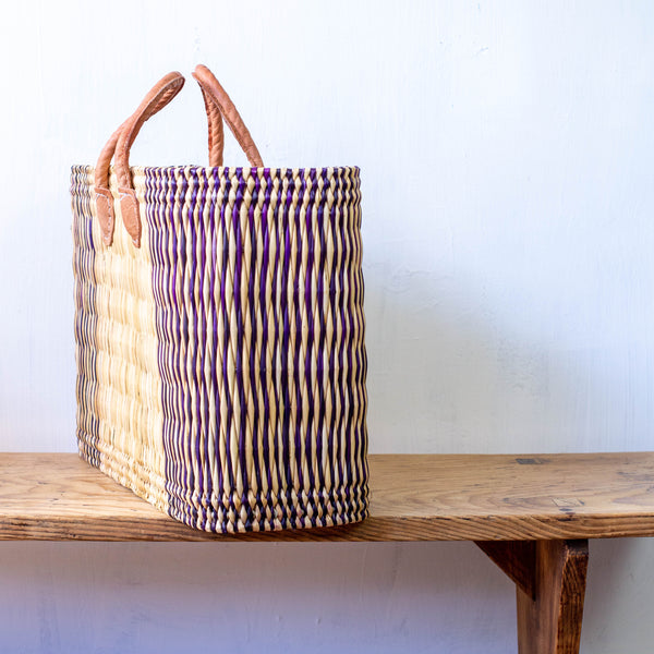Standing Moroccan Beach Basket