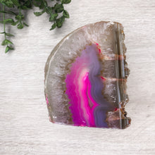 Load image into Gallery viewer, Agate Candle Holder - Pink #1902 - Gina's Charms