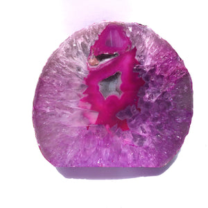 Agate End Geode - Pink #872