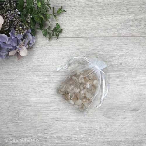 Bag of Tumbles for Crystal Water Bottle - Gina's Charms