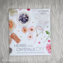 Load image into Gallery viewer, Book - Herbs and Crystals DIY - Gina's Charms