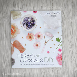 Book - Herbs and Crystals DIY - Gina's Charms