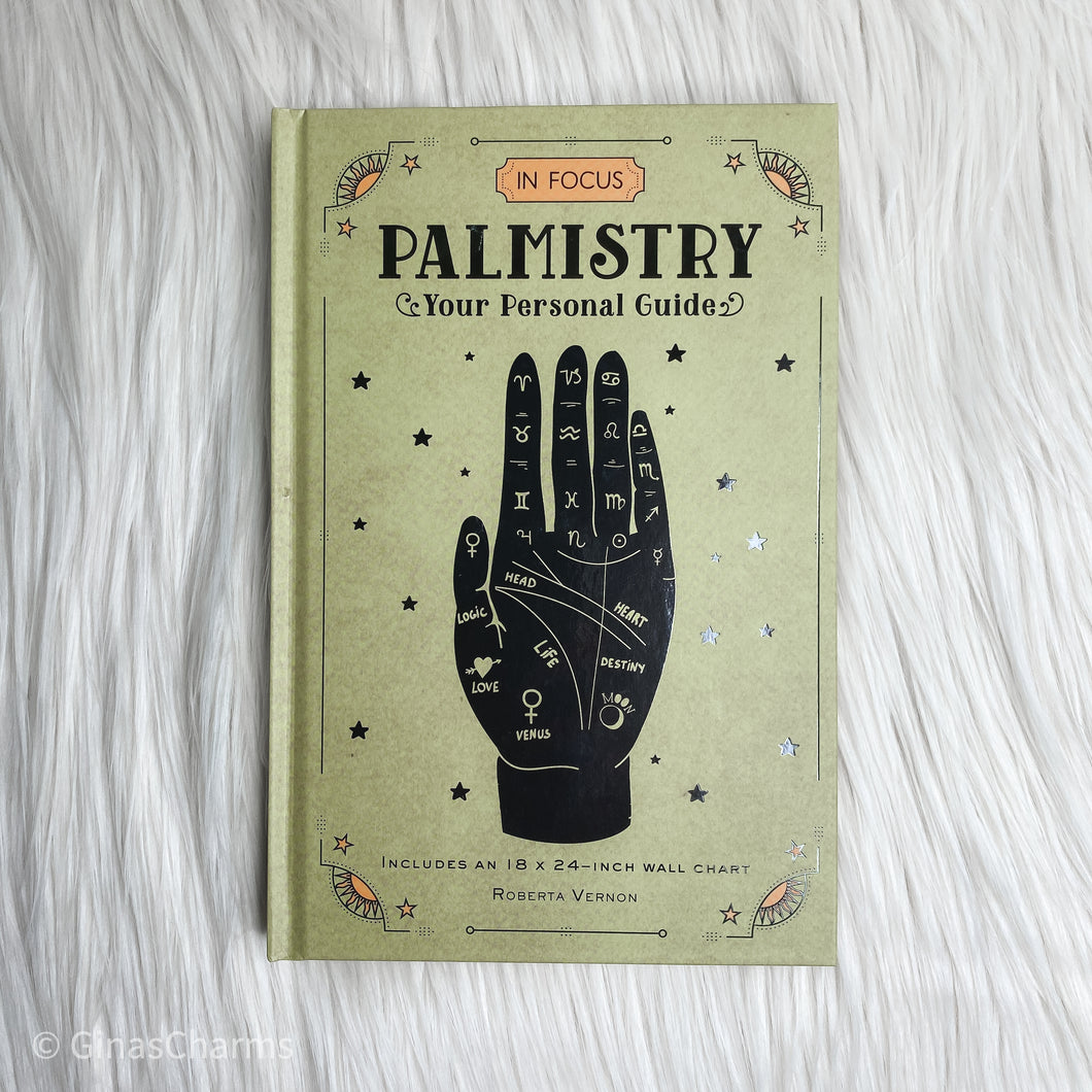 Book - Palmistry In Focus: Your Personal Guide - Gina's Charms