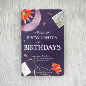 Book - The Element Encyclopedia of Birthdays - Gina's Charms