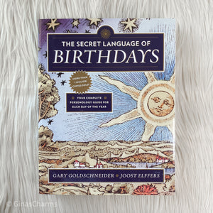 Book - The Secret Language Of Birthdays - Gina's Charms