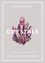 Load image into Gallery viewer, Book - Crystals by Cassandra Eason - Gina's Charms