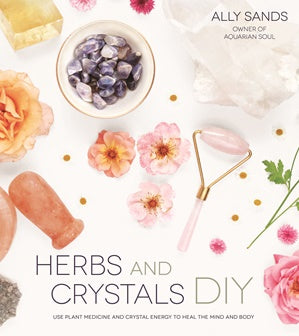 Book - Herbs and Crystals DIY