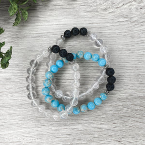 Custom Made Lava Bracelets for Essential Oils - Gina's Charms