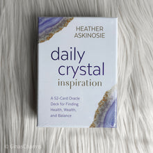 Load image into Gallery viewer, Cards - Daily Crystal Inspiration - Heather Askinosie - Gina's Charms
