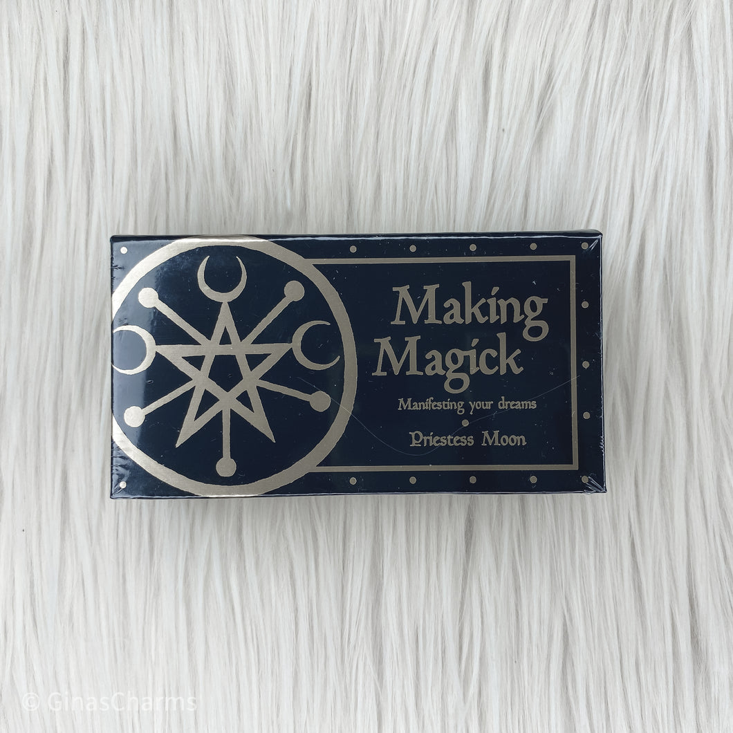 Cards - Making Magick by Priestess Moon - Gina's Charms