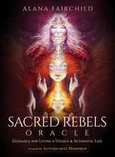 Load image into Gallery viewer, Cards - Sacred Rebels Oracle Cards by Alana Fairchild - Gina's Charms
