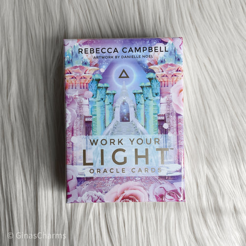 Cards - Work Your Light - Rebecca Campbell - Gina's Charms