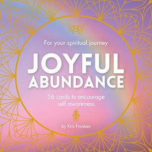 Joyful Abundance Insight Cards - Kris Franken