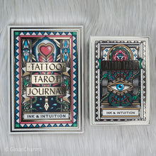Load image into Gallery viewer, Journal - Tattoo Tarot Journal - Gina's Charms