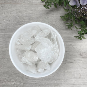 Clear Quartz Chunks - Gina's Charms
