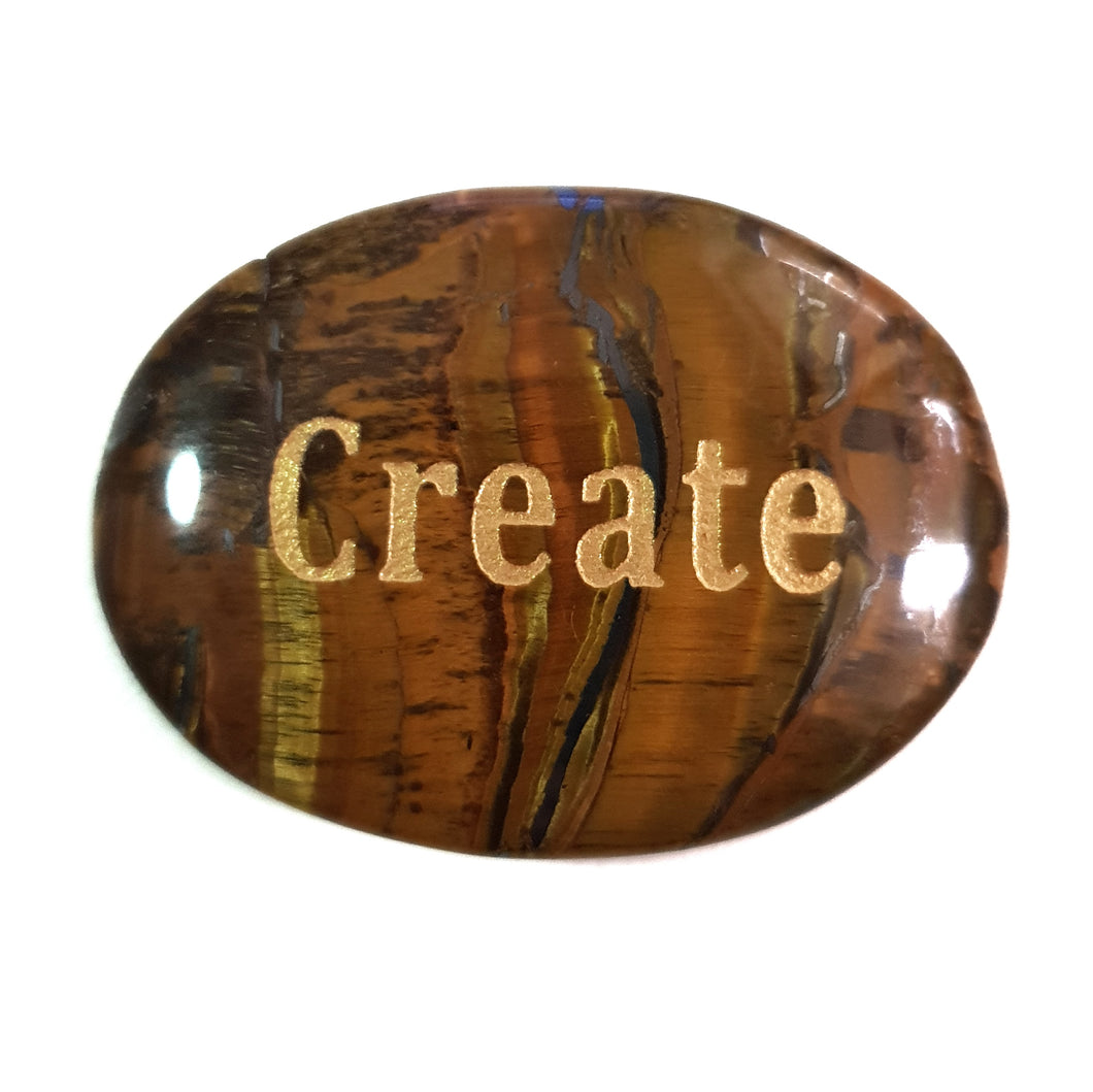 Crystal - Wordstone - CREATE - Tiger Eye