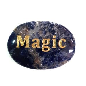 Crystal - Wordstone - MAGIC - Lapis Lazuli