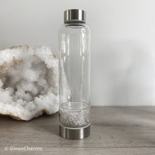Load image into Gallery viewer, Crystal Chips Water Bottle - Gina's Charms