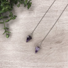 Load image into Gallery viewer, Crystal Pendulum - Amethyst Point - Gina's Charms