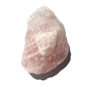 Crystal - Rough Chunks - Rose Quartz S8