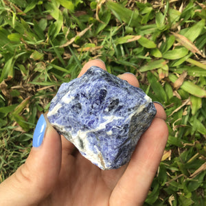 Crystal - Rough Chunks - Sodalite S3