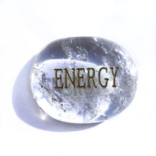 Load image into Gallery viewer, Crystal - Wordstone - ENERGY - Crystal Quartz