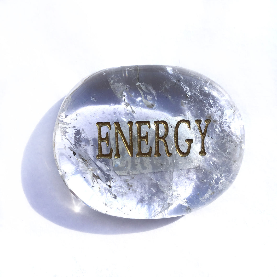Crystal - Wordstone - ENERGY - Crystal Quartz