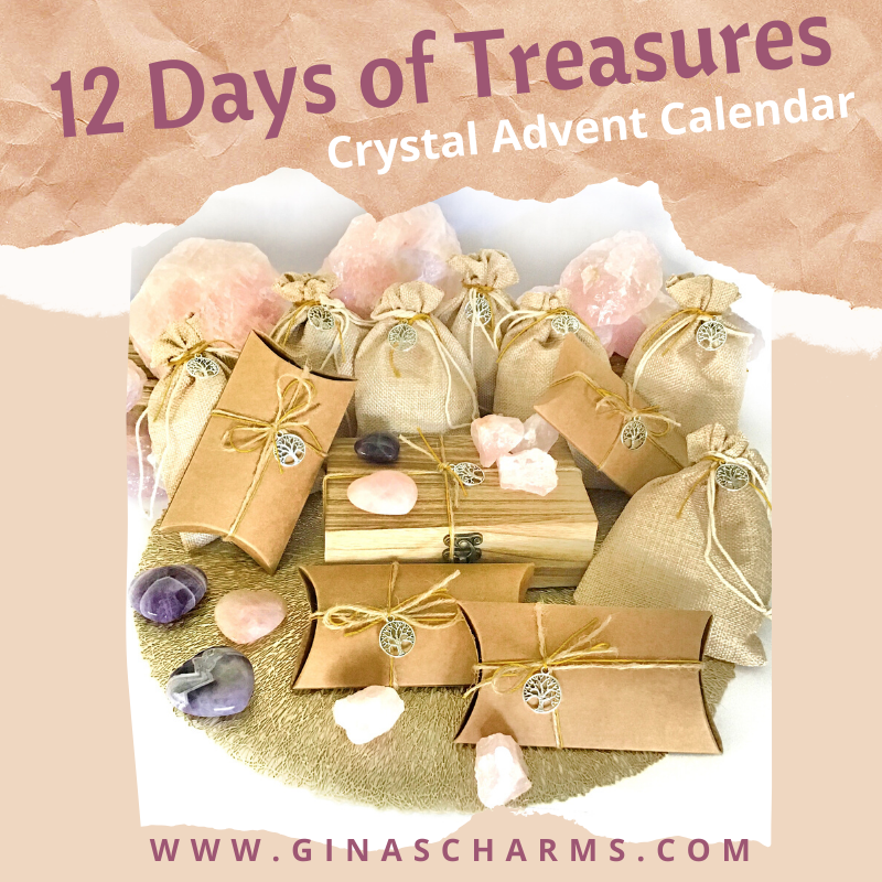 12 Days of Treasures - Large Crystal Advent $139.95