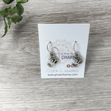 Load image into Gallery viewer, Ohm Charm Earrings - Gina's Charms