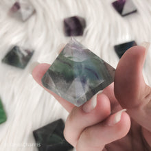 Load image into Gallery viewer, Fluorite Pyramid - Gina's Charms
