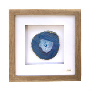 Framed Agate - Blue #9