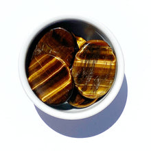 Load image into Gallery viewer, Tiger Eye Worry Stone - Gina's Charms