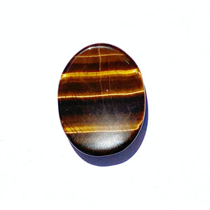 Tiger Eye Worry Stone - Gina's Charms