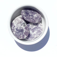 Load image into Gallery viewer, Lepidolite Worry Stone