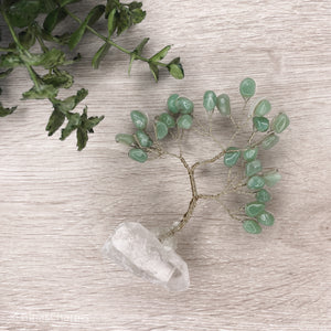 Gem Tree - Green Aventurine - Gina's Charms