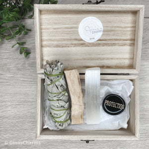 Gift Bundle - Clearing & Protection Box - Gina's Charms