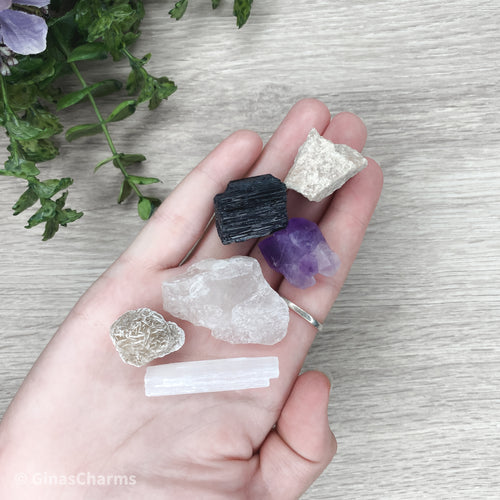 Healing Bag of Raw Crystals - Gina's Charms