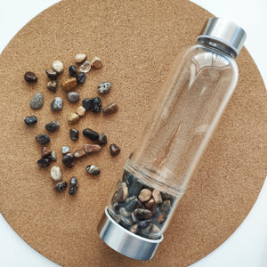 Jasper Crystal Water Bottle