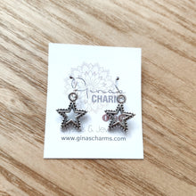 Load image into Gallery viewer, Star Charm Earrings