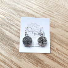 Load image into Gallery viewer, Tree of Life Charm Earrings