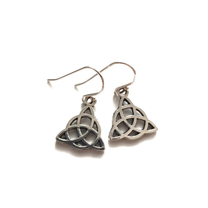 Triquetra Charm Earrings