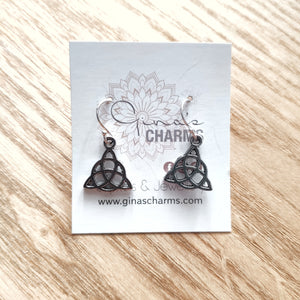 Triquetra Charm Earrings - Gina's Charms