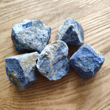 Load image into Gallery viewer, Crystal - Rough Chunks - Sodalite S3