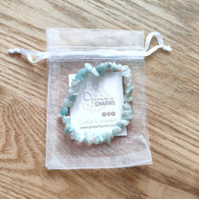 Load image into Gallery viewer, Amazonite Gemstone Chips Bracelet
