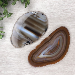 Agate Slices - Gina's Charms